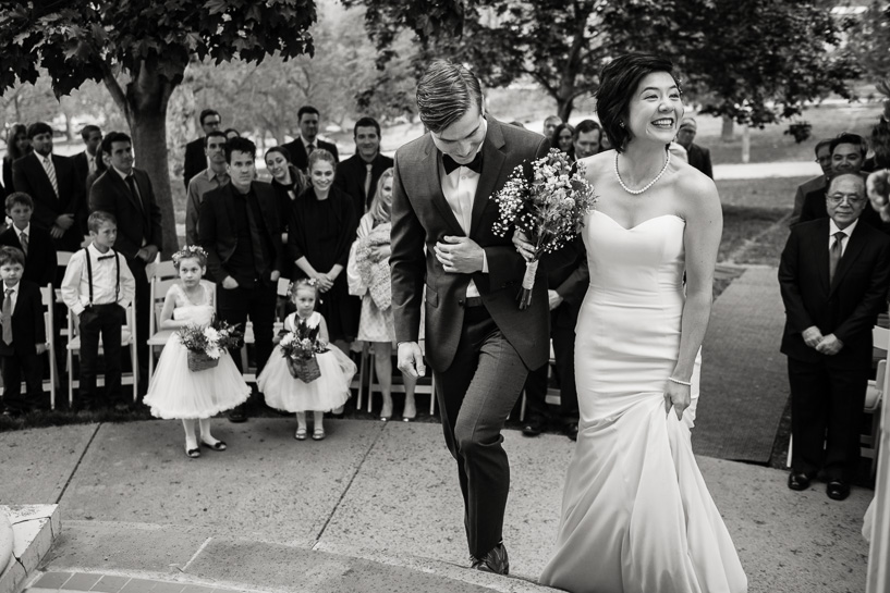 Denver wedding photojournalist captures ceremony at Grant Humphreys wedding.