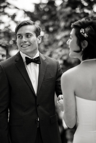 Ceremony at Grant Humphreys Mansion by Denver wedding photographer Carl Bower