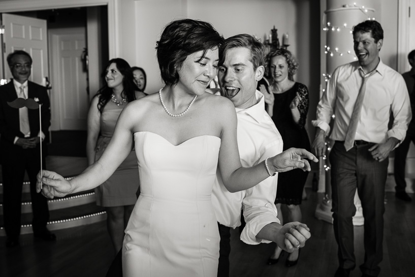 Dancing by Denver wedding photojournalist