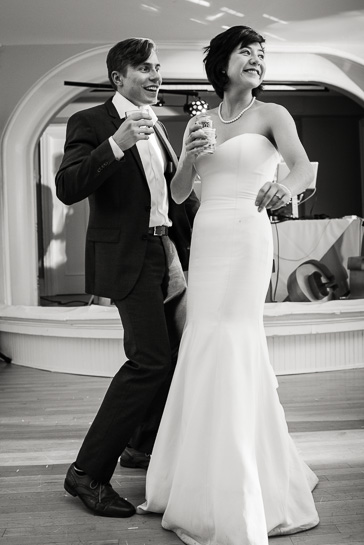 Dancing at Grant Humphreys Mansion by Denver wedding photojournalist
