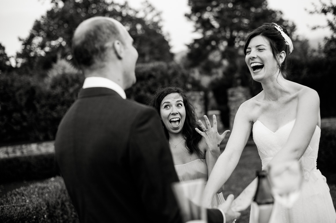 Woman and Bride Laughing Assorted Moments Carl Bower Wedding Photographer