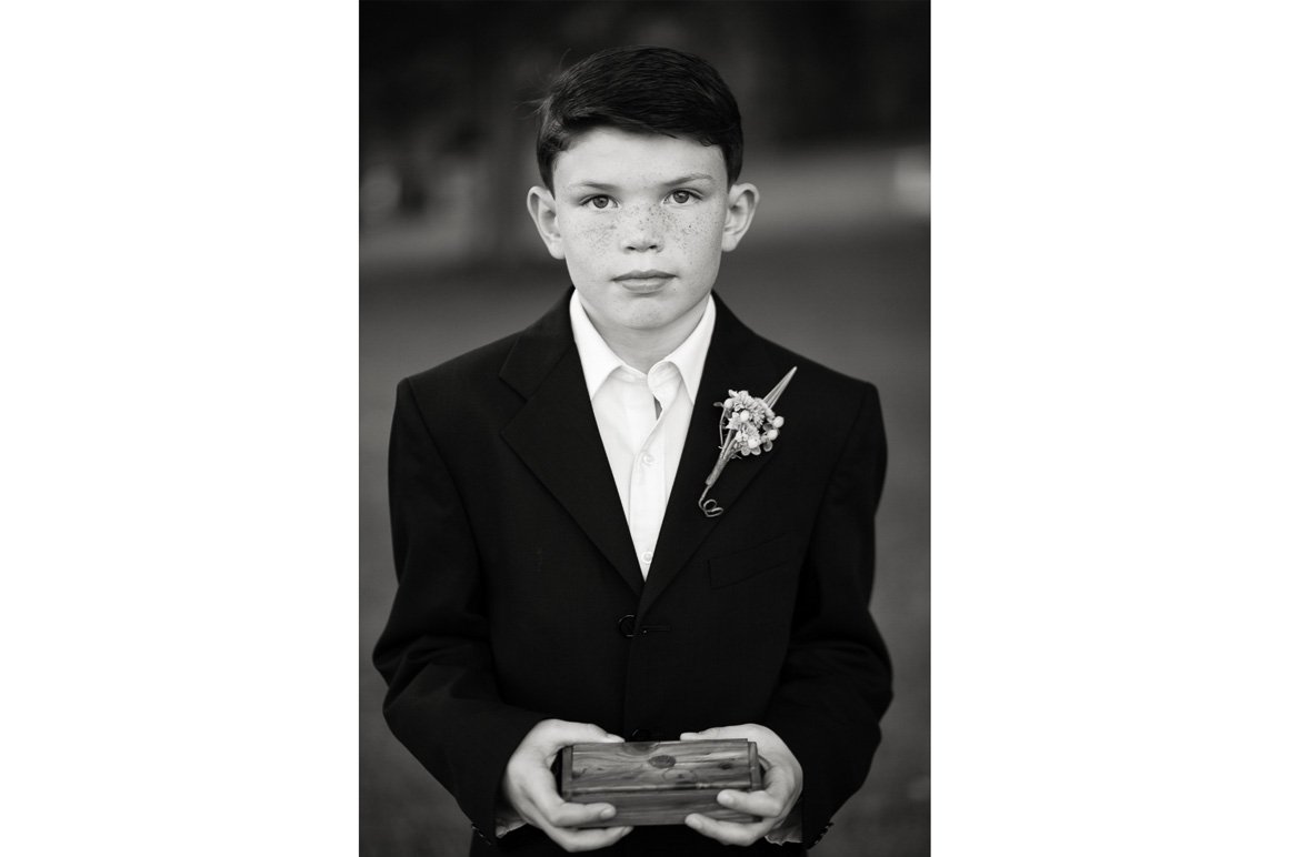 Ring Bearer Assorted Moments Carl Bower Wedding Photographer