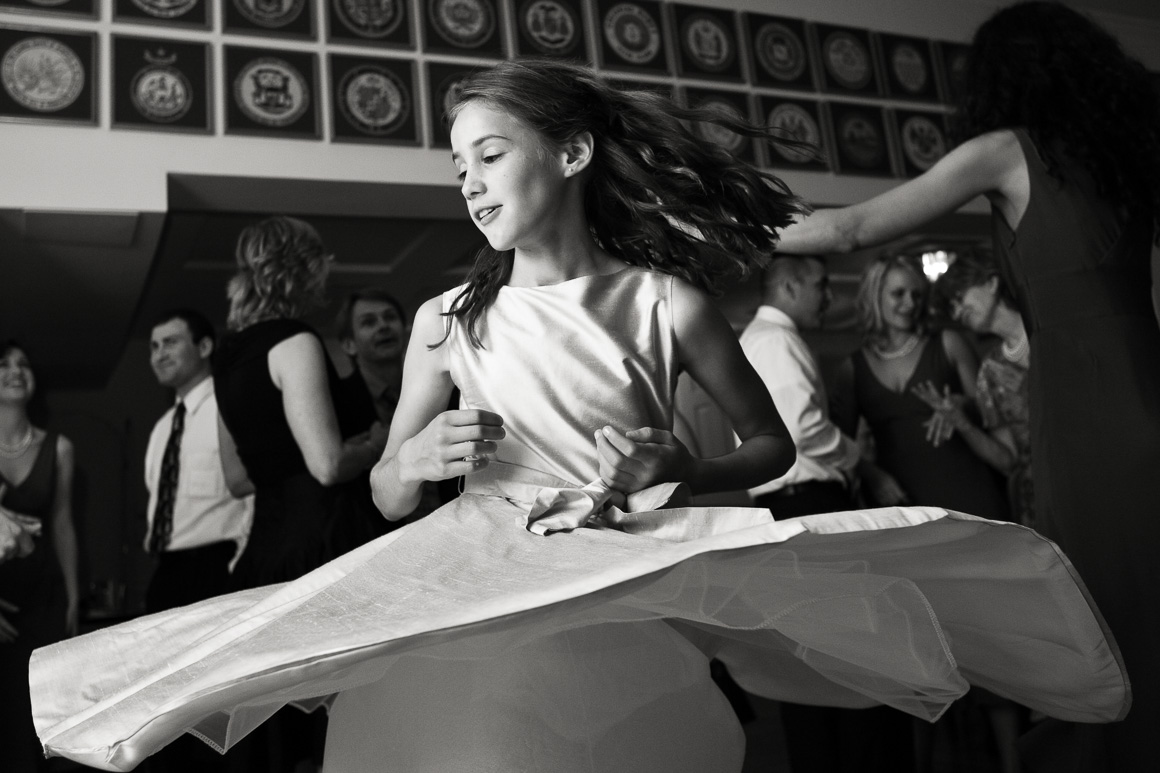 Girl Spinning Dancing Assorted Moments Carl Bower Wedding Photographer