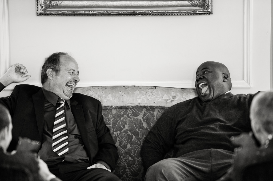 Men Laughing Assorted Moments Carl Bower Wedding Photographer