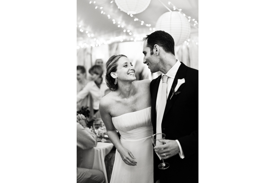 Newlyweds Laughing Gazing at Each Other Assorted Moments Carl Bower Wedding Photographer