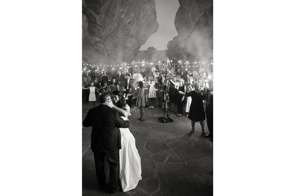 Newlyweds first dance nightime Assorted Moments Carl Bower Wedding Photographer