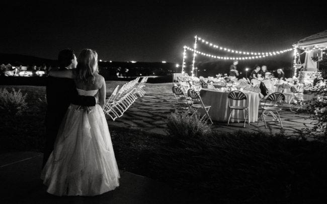 newlyweds night wedding lights Assorted Moments Carl Bower Wedding Photographer