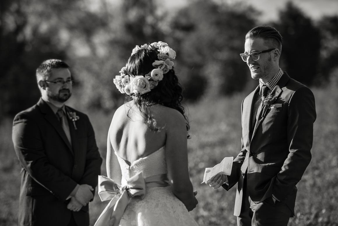 blacksburg virginia wedding vows outdoors