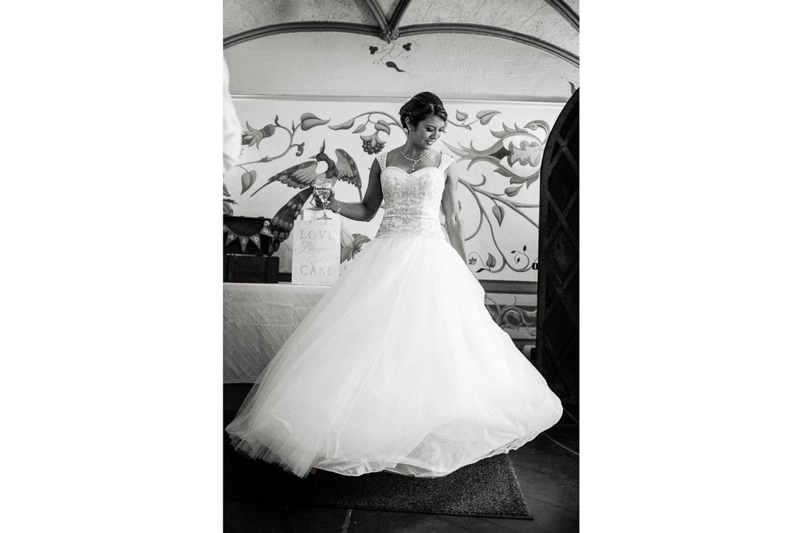 cloisters castle bride dress