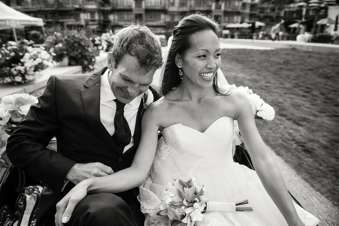 vail co wedding photographer newlyweds candid laughter