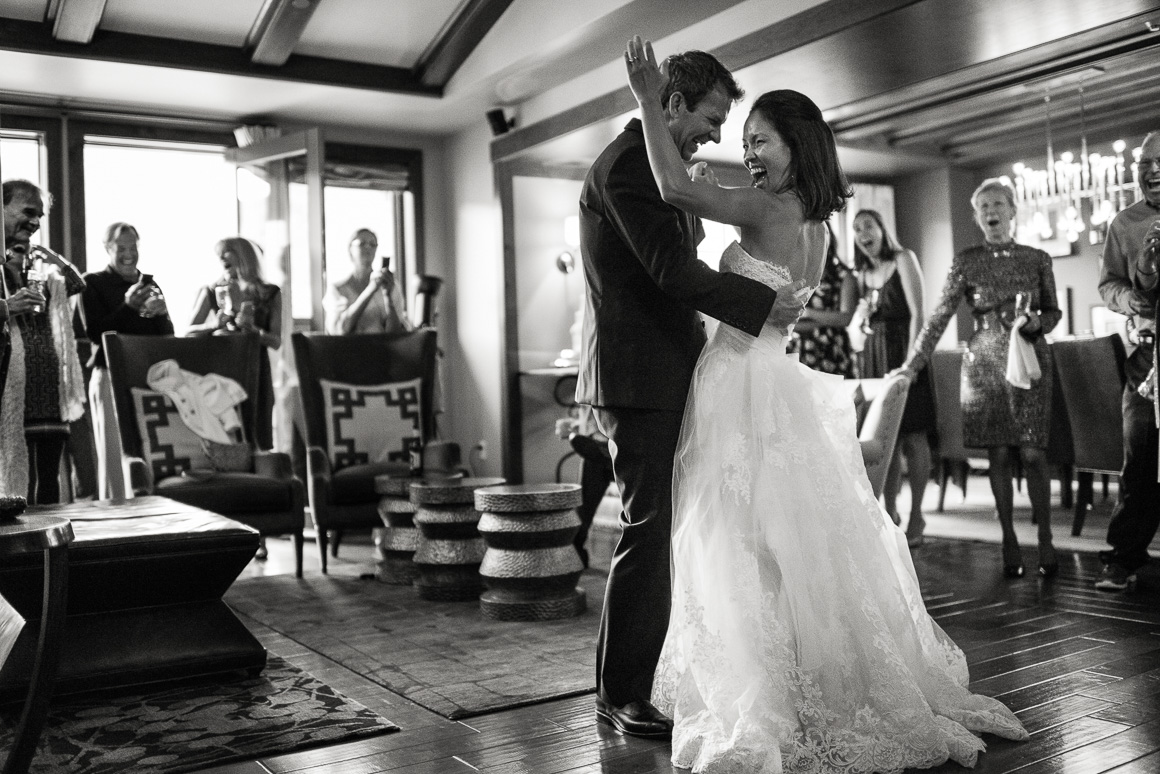 vail colorado wedding dance candid photographer