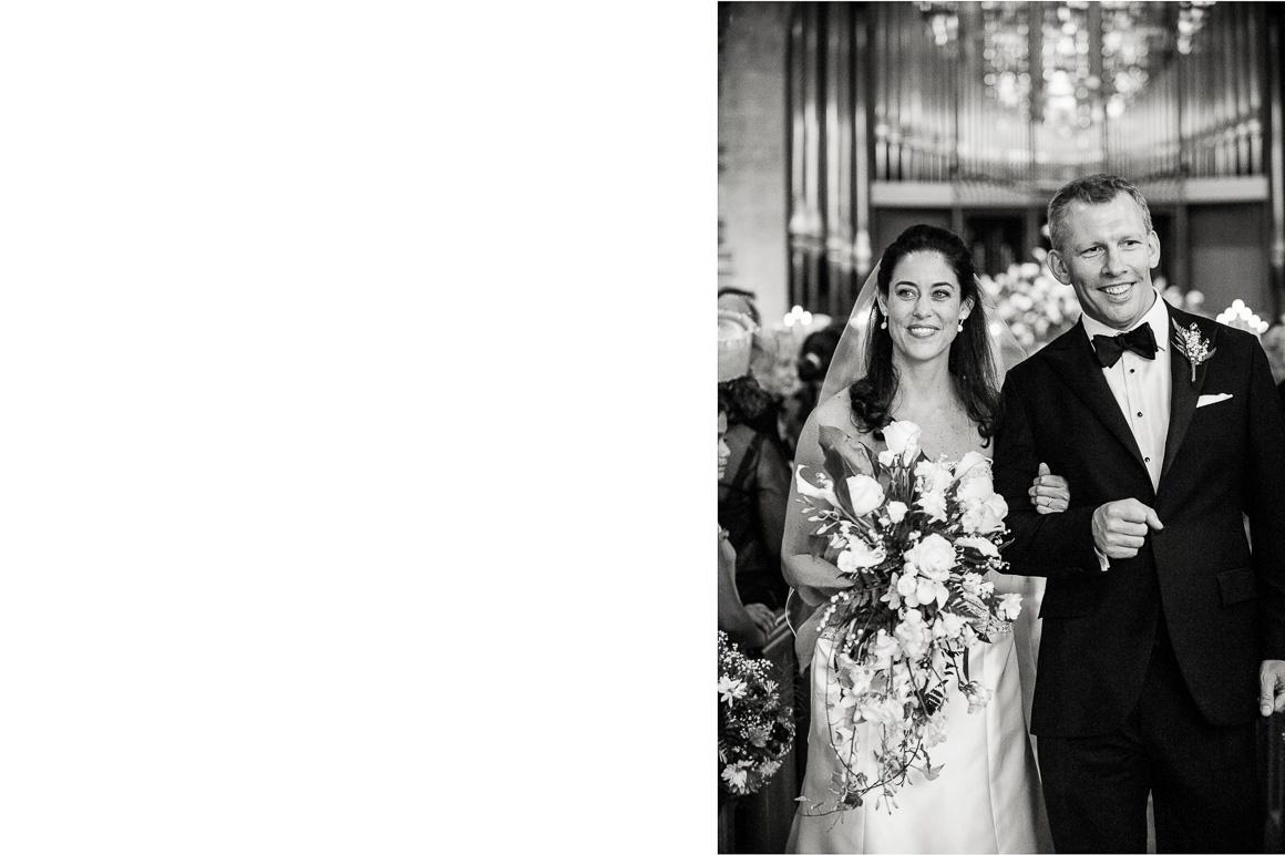 washington dc wedding newlyweds church