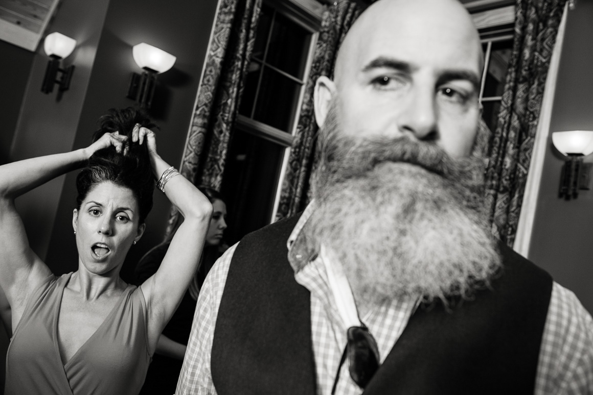 west virginia wedding couple beard