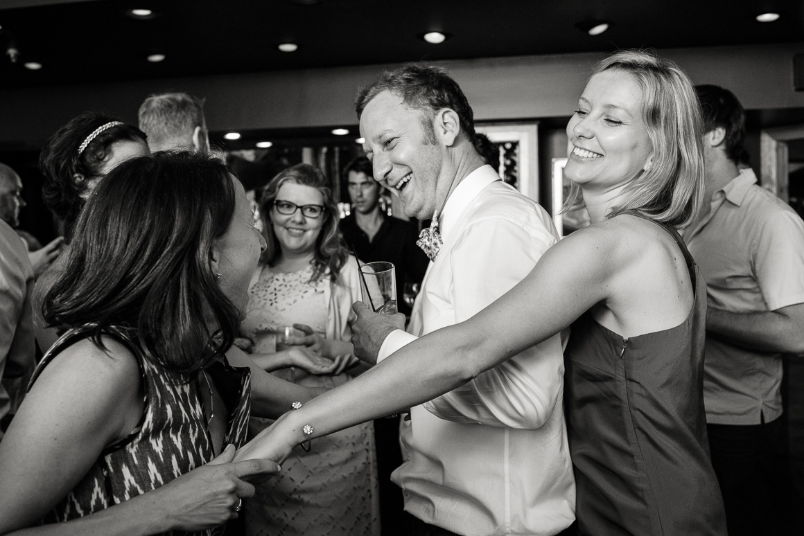 Denver wedding photojournalist captures dancing at West Virginia wedding.