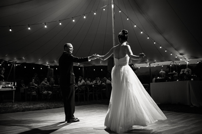 First dance at Loudoun County wedding