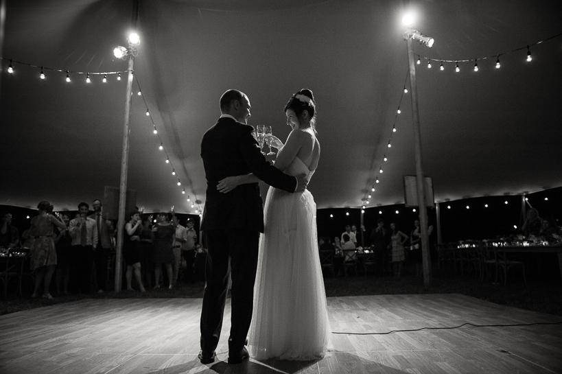 Wedding toasts by Denver wedding photographer.