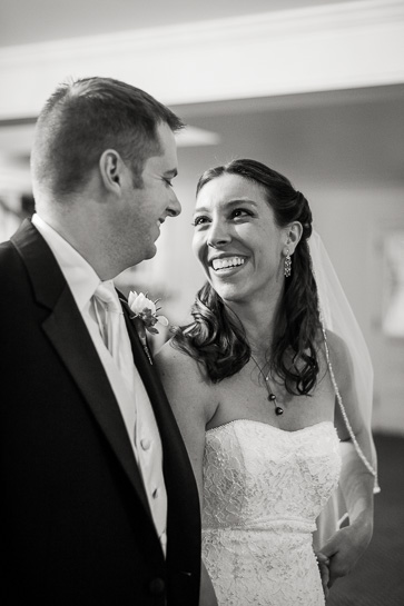 Candid wedding photography of couple at Morrison Colorado wedding