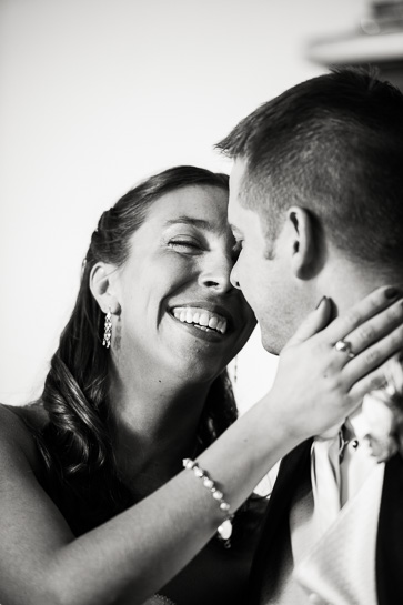 Newlyweds by Morrison Colorado wedding photojournalist