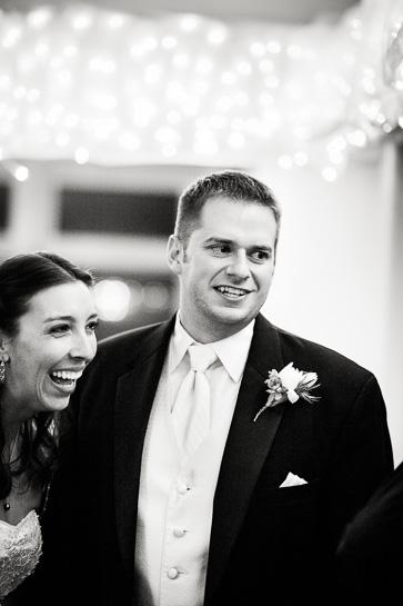 Natural wedding photography of bride and groom at Denver wedding.