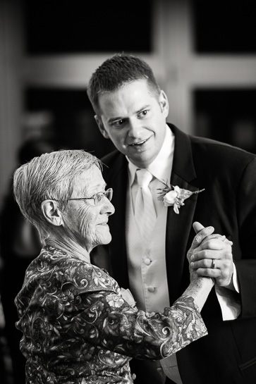 Groom and mother dance at Morrison Colorado wedding