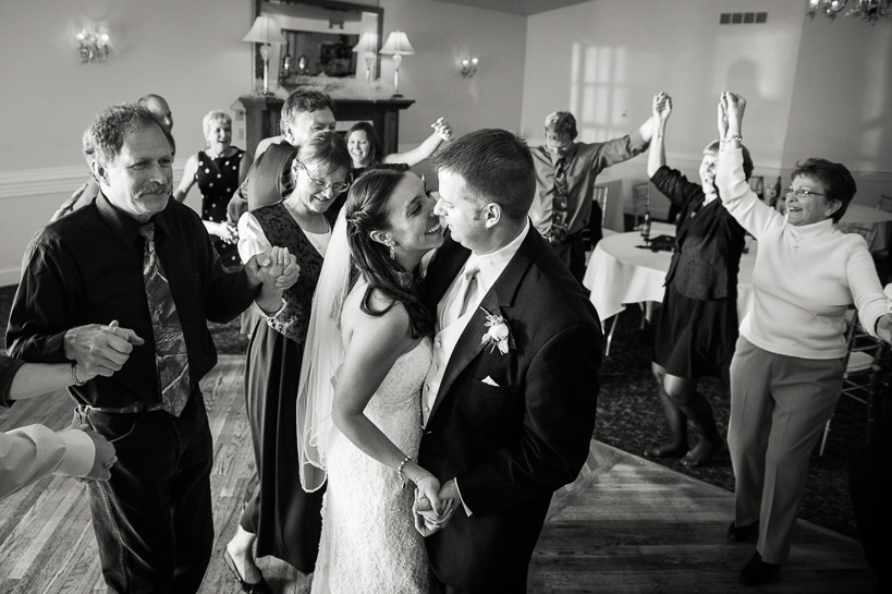 Denver wedding photographer captures last dance at Morrison Colorado wedding.