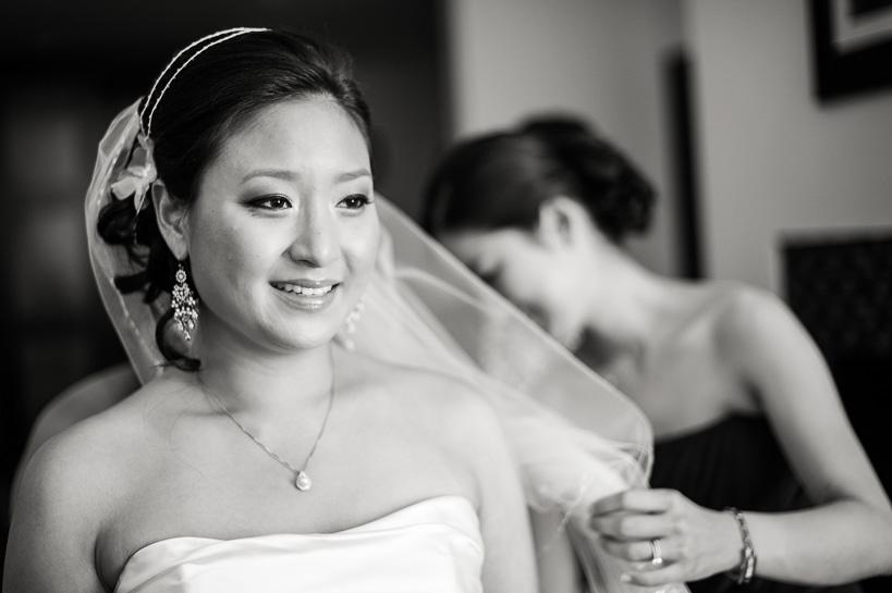 denver bride prepares