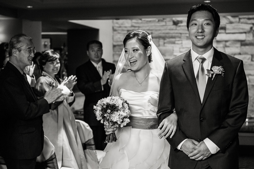 Wedding ceremony at Magnolia Hotel Denver