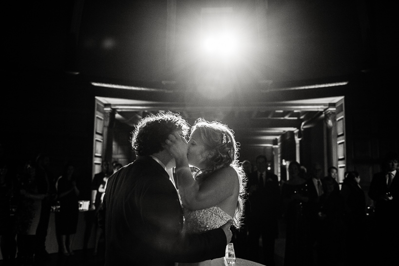 New Orleans wedding kiss by Denver wedding photojournalist Carl Bower.