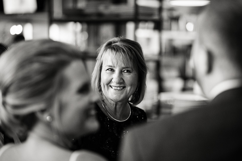 Mother of the groom at Coohills wedding reception.