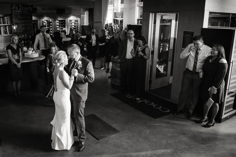 First dance by Denver wedding photojournalist.