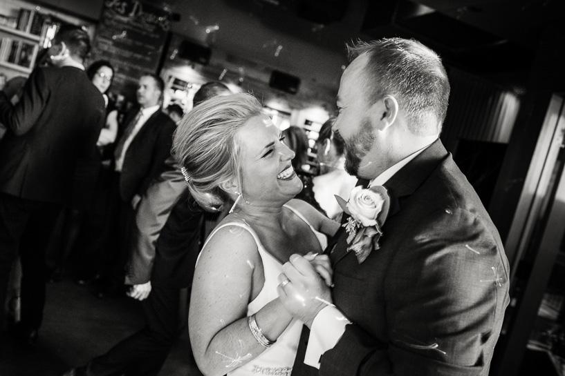 Coohills wedding couple on the dance floor.