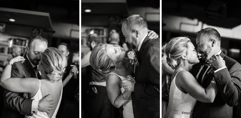 Denver Bride and groom dance at Coohills wedding