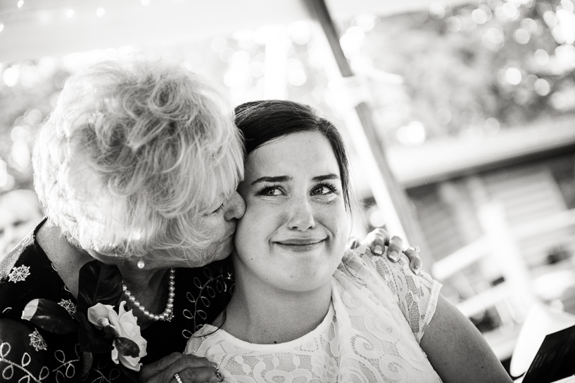 Denver wedding photographer captures groom's mother with his daughter