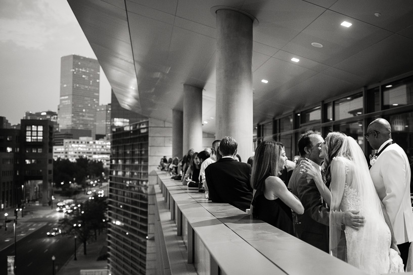The terrace at the History Center Colorado was a great place for cocktails.