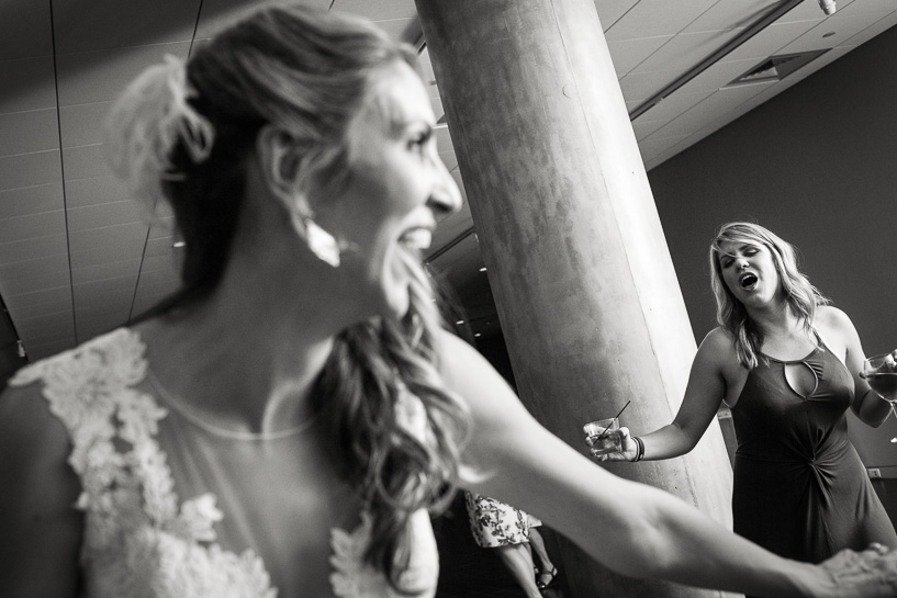 Denver bride at History Center Colorado wedding.