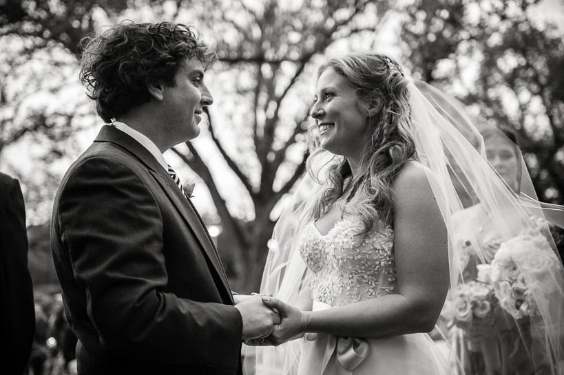 Wedding at the Sculpture Garden of the New Orleans Museum of Art by Denver wedding photojournalist.