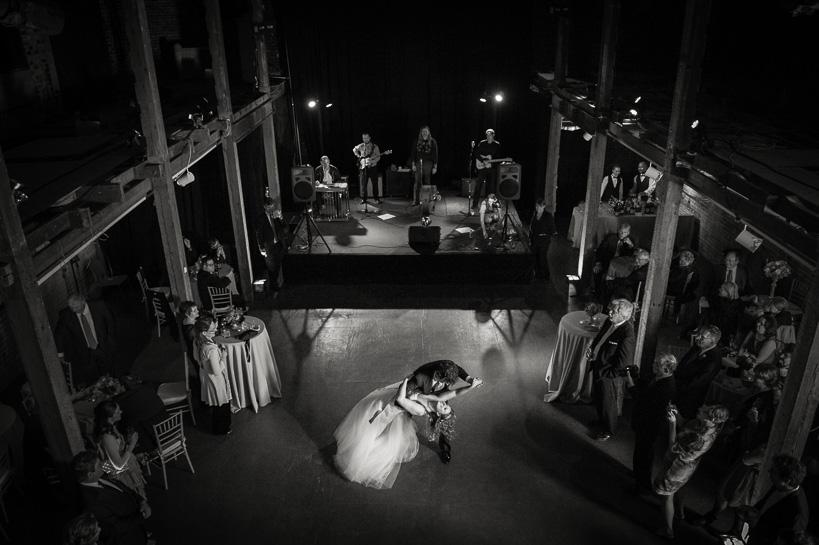 First dance at an Ogden Museum of Southern Art wedding.
