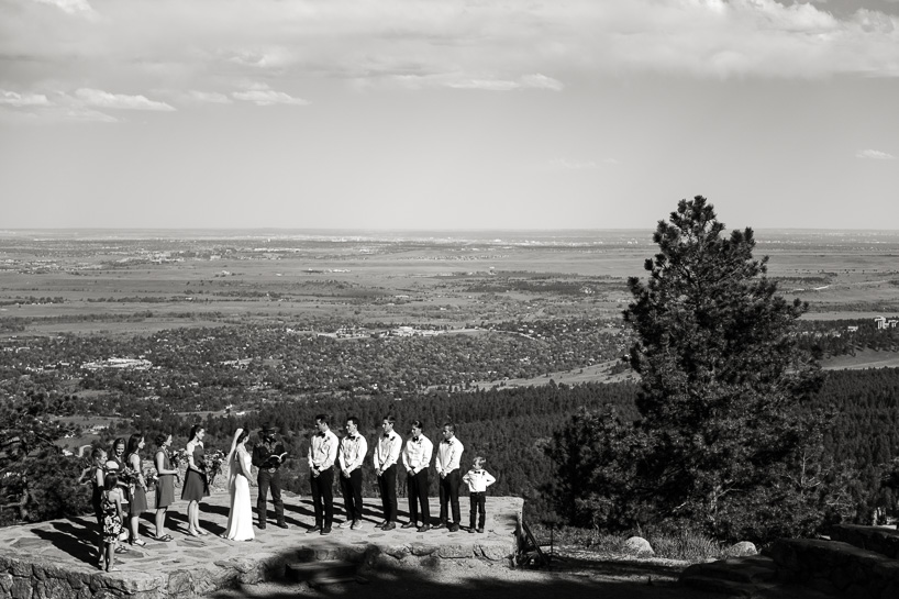 Sunrise Amphitheater wedding in Boulder, Colorado